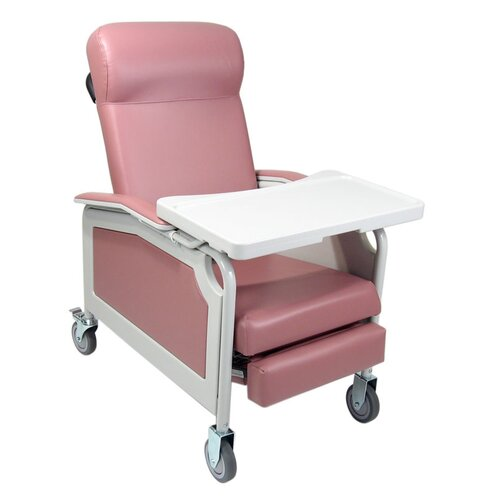Winco Manufacturing Three Position Convalescent Recliner with Tray