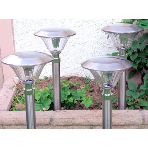 Homebrite Solar Solar Power Sierra Path Light (Set of 8)