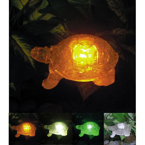 Homebrite Solar Solar Turtle with Color Change Lighting