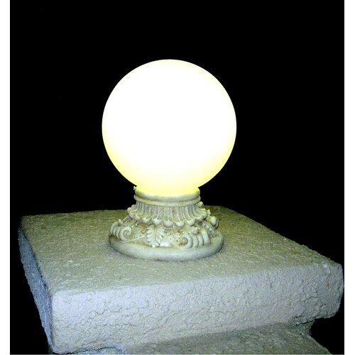 Next Deal Shop Solar Lights Reviews: Homebrite Solar Solar Power Frosted Glass Globe Entrance