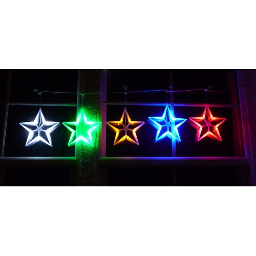 Homebrite Solar Star String Light
