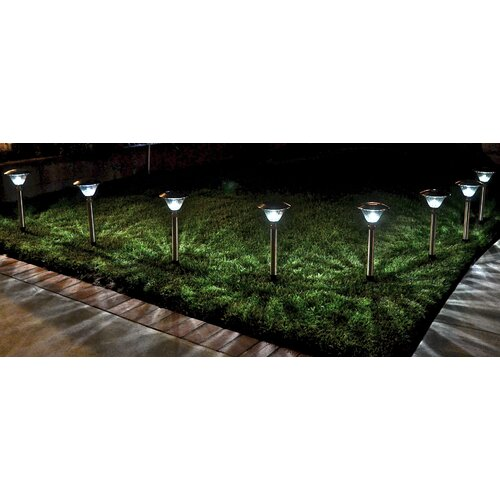 Homebrite Solar Solar Power Sierra Path Light