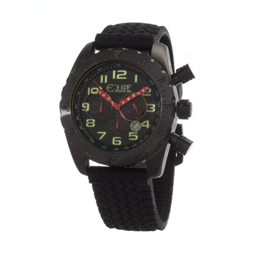 Headlight Men's Watch with Black Band and Case