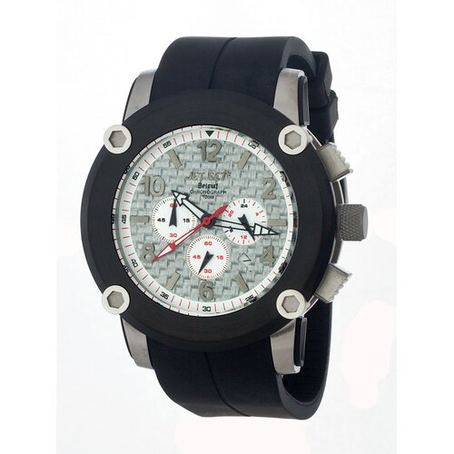 Beirut Men's Watch with Black Rubber and Black Case