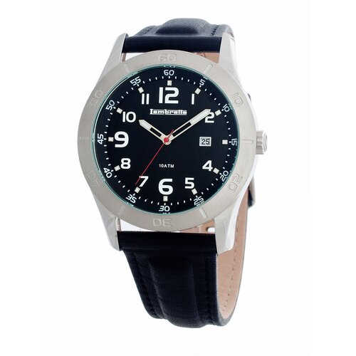 Lambretta Luigi Men's Watch with Silver Case
