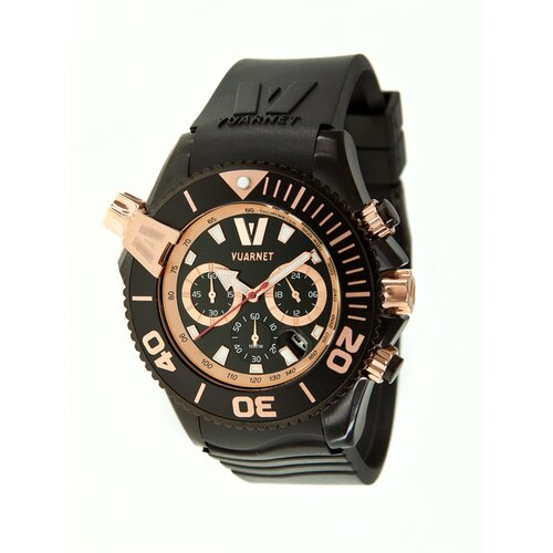 H2O Gent Men's Watch with Black Rubber Band