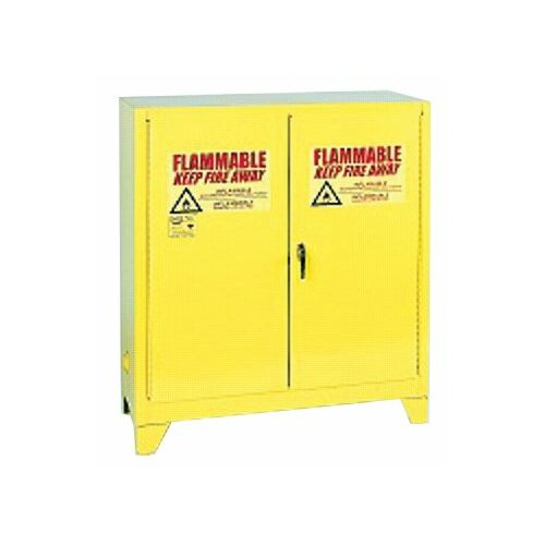 """Eagle 44"""" H x 43"""" W x 18"""" D Flammable Liquid 30 Gallon Safety Storage Cabinet"""