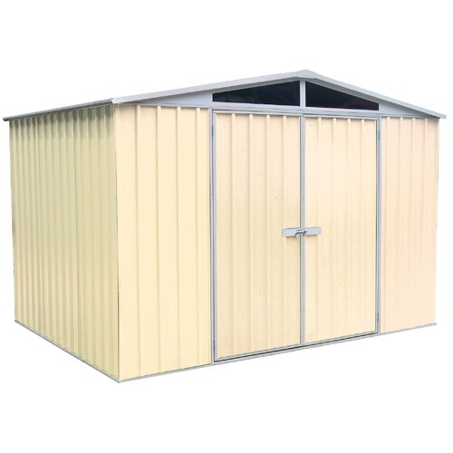 Absco DayLite 10ft. W x 7ft. D Steel Garden Shed