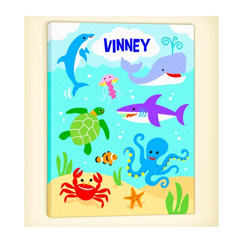 Ocean Personalized Canvas Art