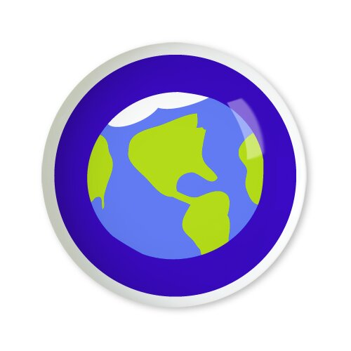 """Olive Kids Out of This World 1.5"""" Round Knob"""