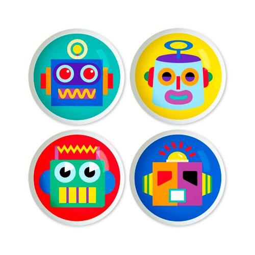 "Olive Kids Robots 2"" Round Knob"