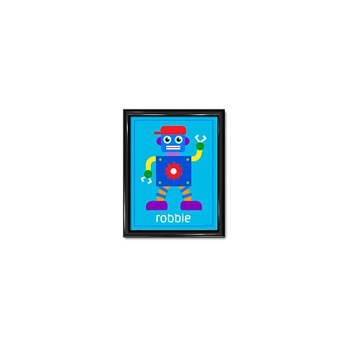 Olive Kids Robots Personalized Framed Art