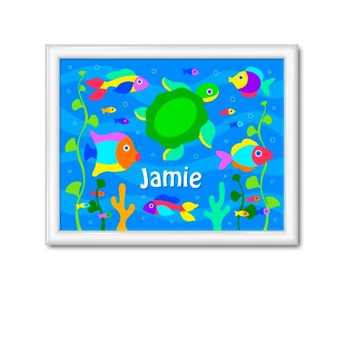 Olive Kids Something Fishy Personalized Framed Art