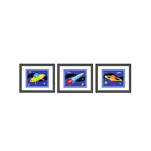 Olive Kids 3 Piece Out of This World Framed Art Set