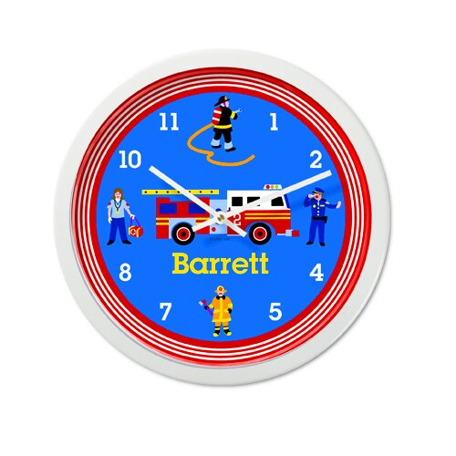 "Olive Kids Heroes 12"" Personalized Wall Clock"