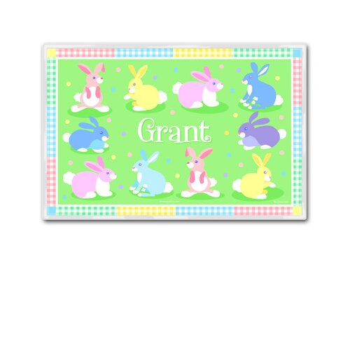 Olive Kids Easter Bunny Personalized Placemat