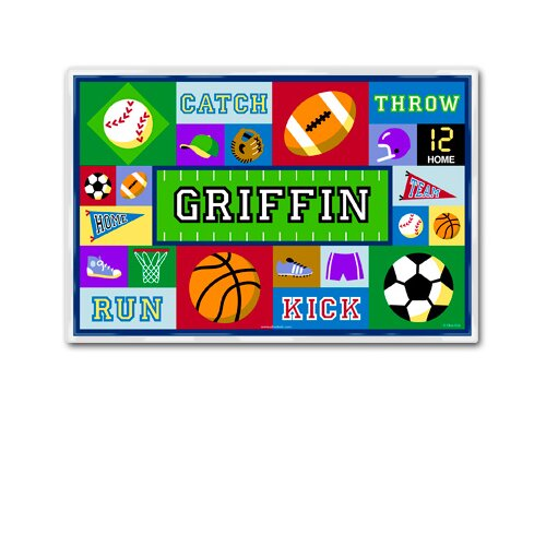 Game On Boys Personalized Placemat