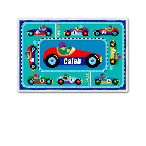 Olive Kids Vroom Personalized Placemat