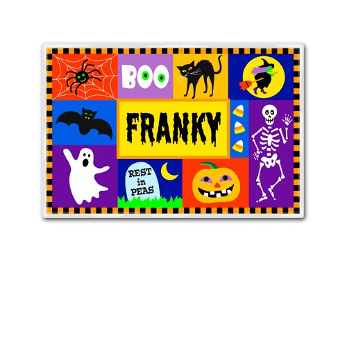 Olive Kids Halloween Celebration Personalized Placemat