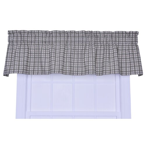 "Ellis Curtain Bristol Plaid Window 70"" Curtain Valance"