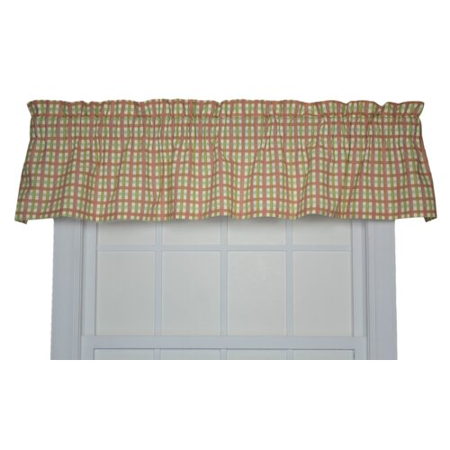 "Ellis Curtain Charlestown Check 70"" Curtain Valance"