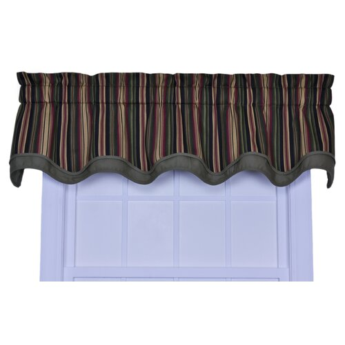 "Ellis Curtain Montego Stripe Bradford 70"" Curtain Valance"