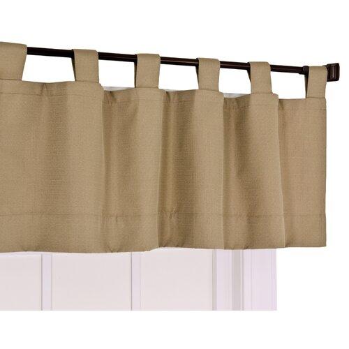 "Ellis Curtain Crosby Insulated Foamback 40"" Curtain Valance"