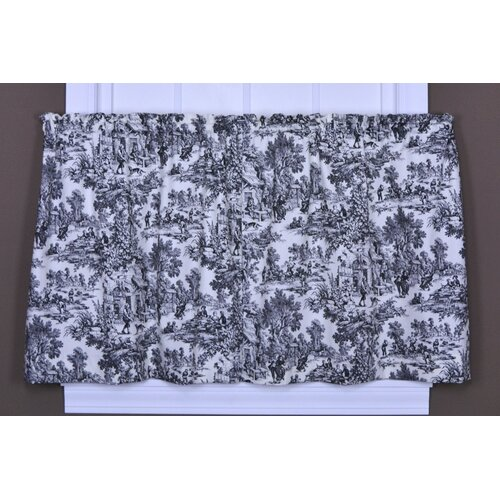 Ellis Curtain Victoria Park Toile Tier Curtain