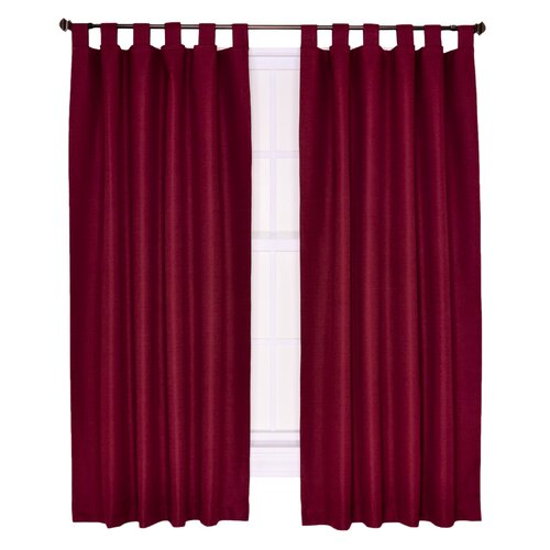 Ellis Curtain Crosby Insulated Tab Top Foamback Curtains