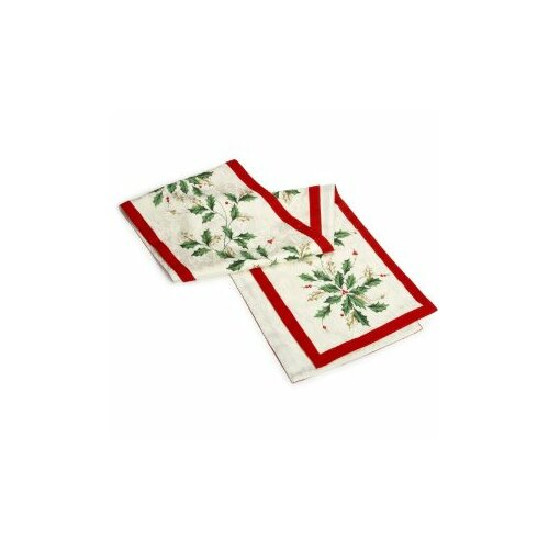 holiday  table Holiday runner Lenox Table Runner