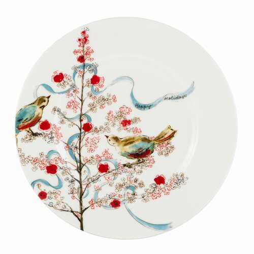 "Lenox Chirp 9"" Seasonal Salad / Luncheon Plate"