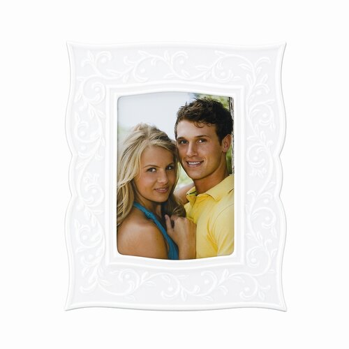 Opal Innocence Carved Picture Frame