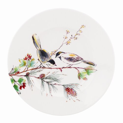 """Lenox Winter Song 9"""" Accent Plate"""