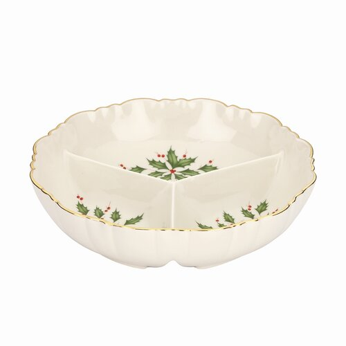Lenox Holiday Archive Condiment Serving Dish