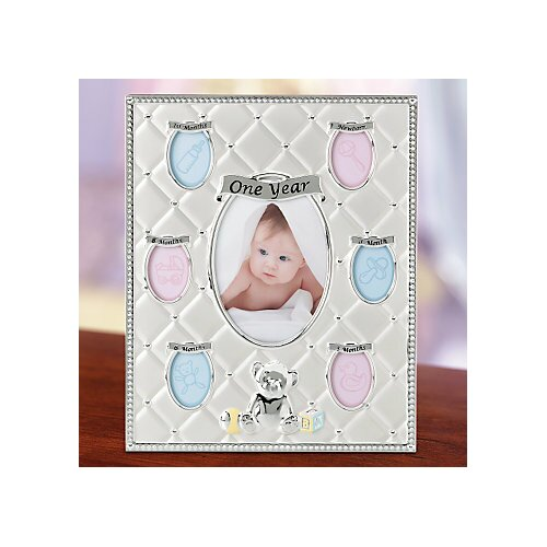 Lenox Childhood Memories First Year Picture Frame