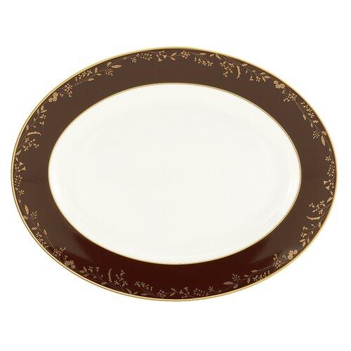 "Lenox Golden Bough 13"" Oval Platter"