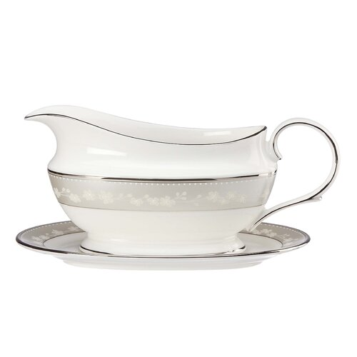 Lenox Bellina 16 oz. Gravy Boat with Tray