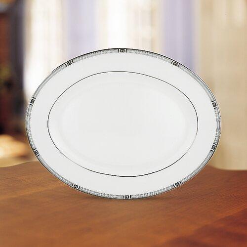 Lenox Westerly Platinum Oval Platter