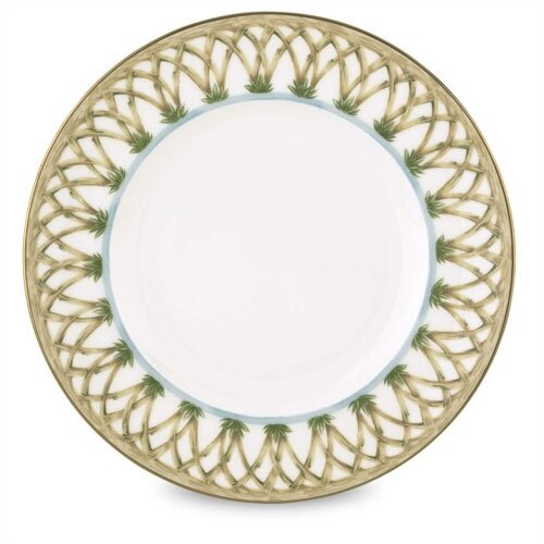 "Lenox Colonial Bamboo 9"" Accent Plate"