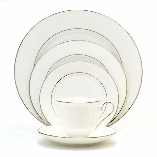 Lenox Hannah Platinum 5 Piece Place Setting