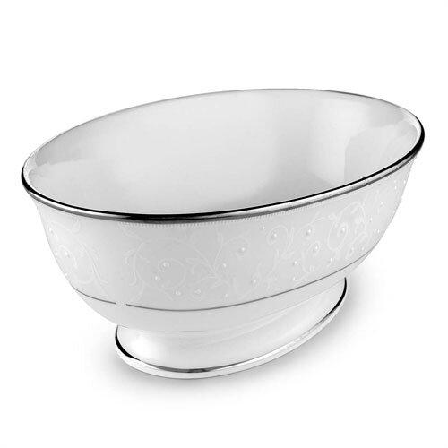 "Lenox Opal Innocence Open 9.5"" Vegetable Bowl"