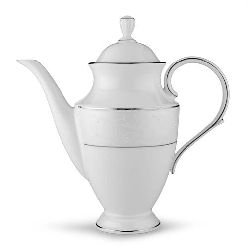 Lenox Opal Innocence 6 Cup Coffee Server with Lid