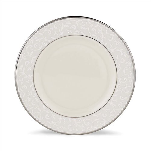"""Lenox Pearl Innocence 8"""" Salad Plate"""