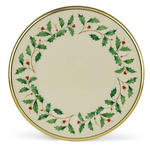 "Lenox Holiday 8"" Salad Plate"