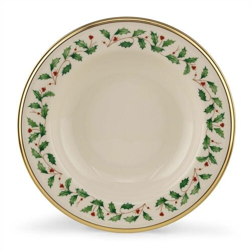 Lenox Holiday Pasta / Soup Bowl