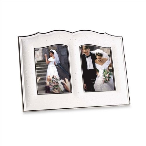 Opal Innocence Double Picture Frame