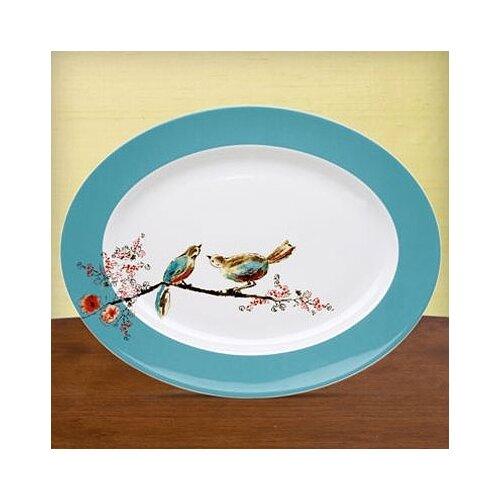 "Lenox Chirp 16"" Oval Platter"