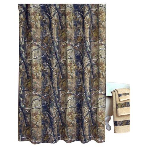 Realtree All Purpose Cotton Shower Curtain