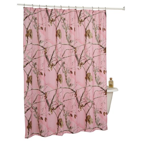 Realtree Bedding Camo Shower Curtain
