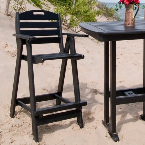 "POLYWOOD® Nautical  29.5"" Barstool"